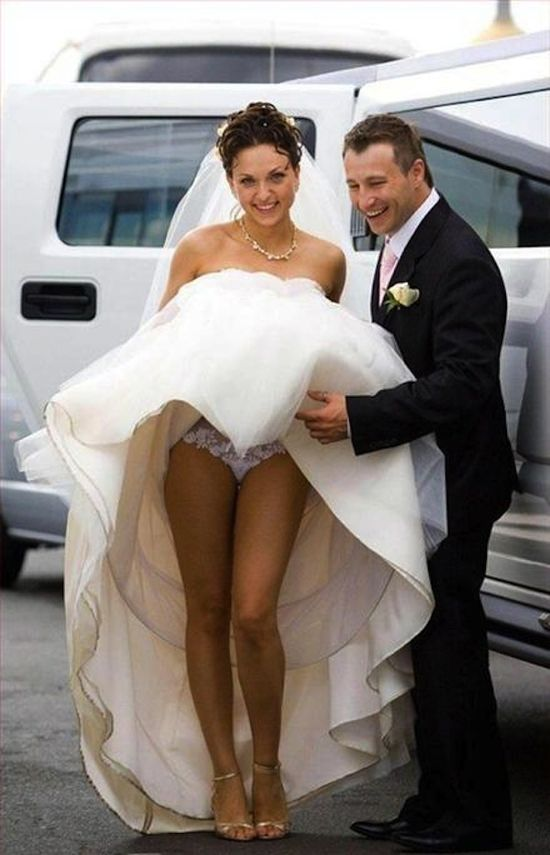 More Bizarre Wedding Photos
