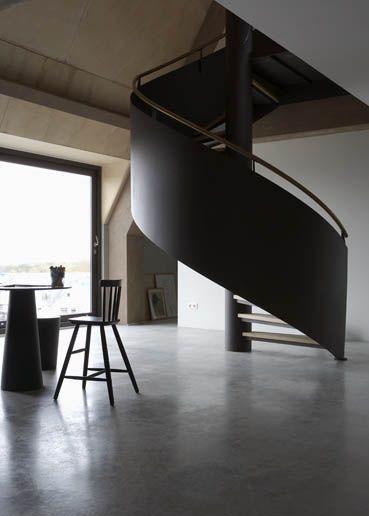 industrial - beautiful #stair #interior