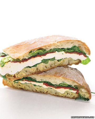 21 vegetarian sandwiches