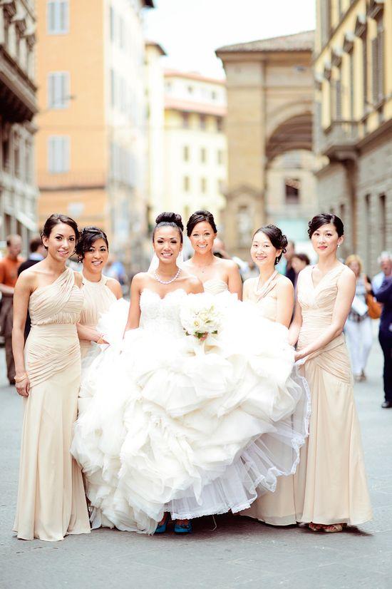 Tuscany Wedding from Emm & Clau   Read more - www.stylemepretty...