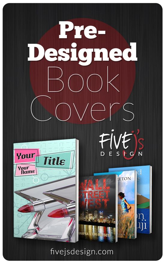 Pre-Designed Book Covers