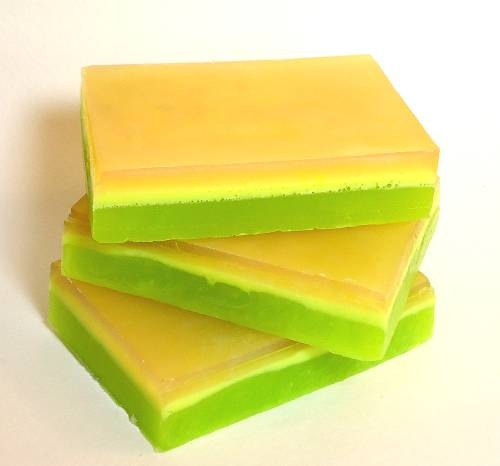 layered soap