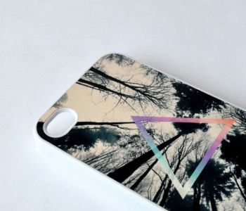 Triangle Woods iPhone Case