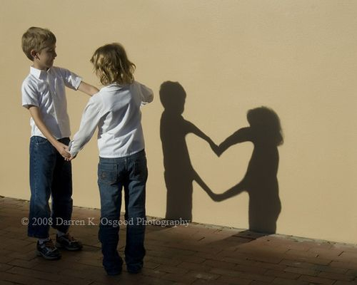 Sibling love. Great picture idea!!!
