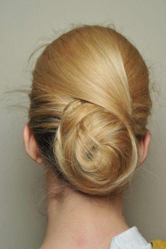 chignon wedding hairstyle ideas