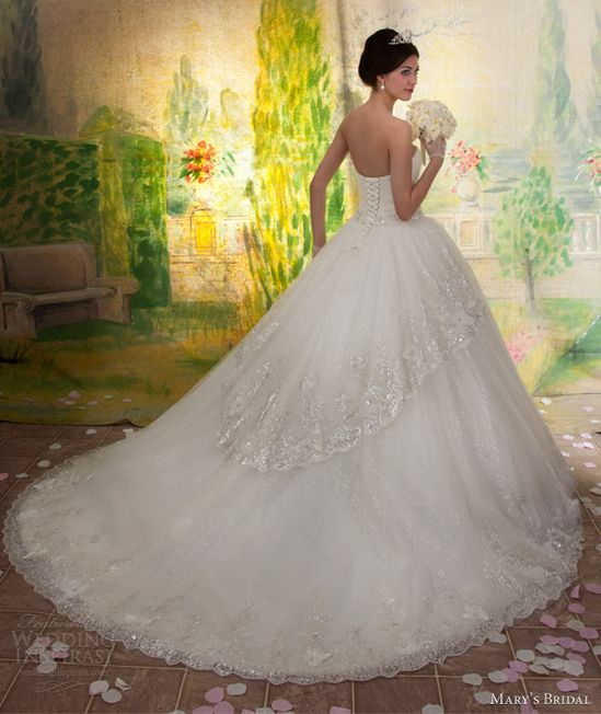 Mary's Bridal Fall 2013 Wedding dress