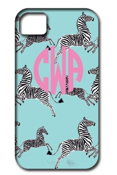 Dancing Zebras Phone Cases