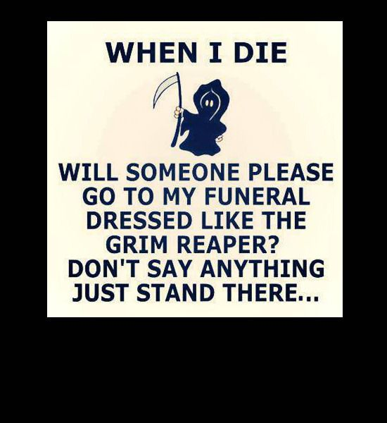 funeral-grim-reaper, funny photos    This is so funny.  Can you imagine the reaction?