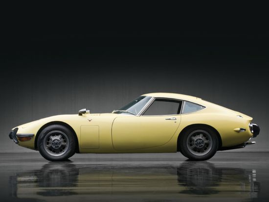 Toyota 2000GT. In production from 1967 until 1970.