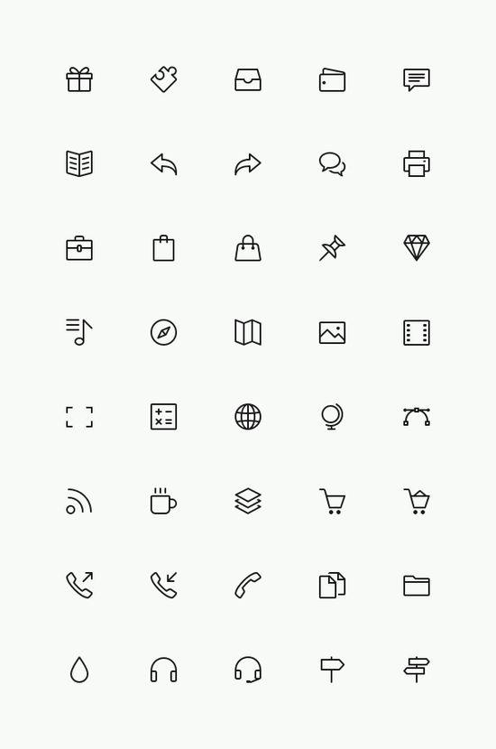 Simple Line Icons Set Vol.3