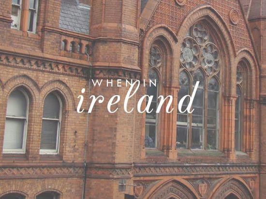 When in #Ireland