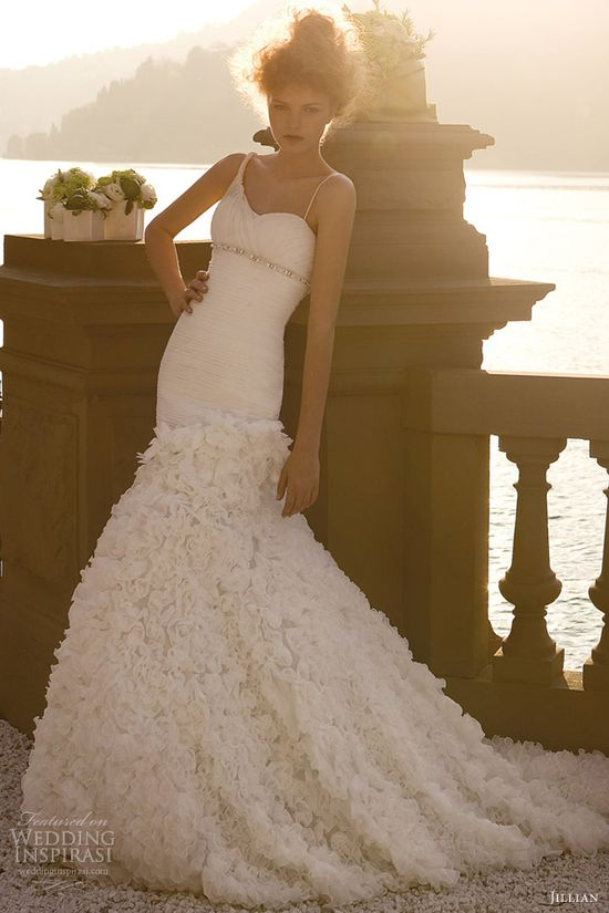 jillian sposa 2013 mermaid wedding dress