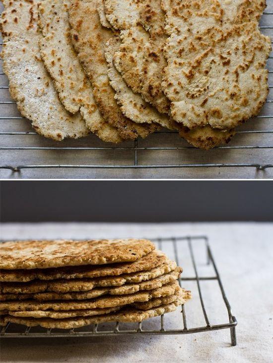 Quick gluten-free flat bread