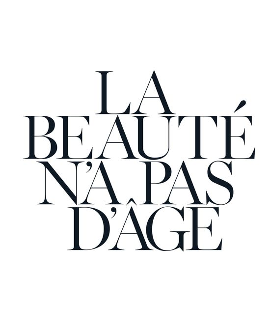 """Beauty Has No Age"""