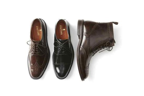 Stafford dress shoes
