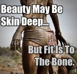 Beauty may be skin deep.. but fit is to the bone.