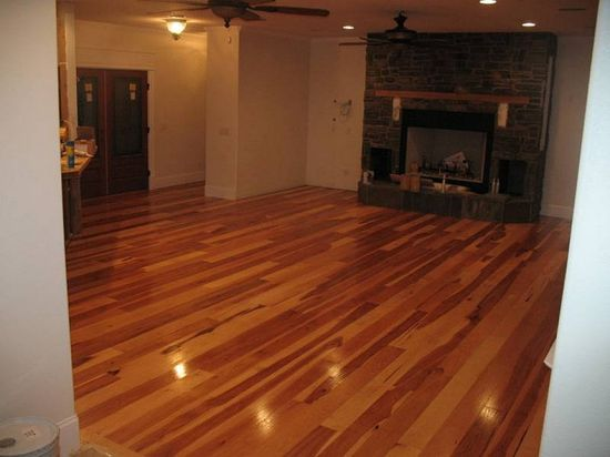 Hickory Hardwood Flooring Design Ideas