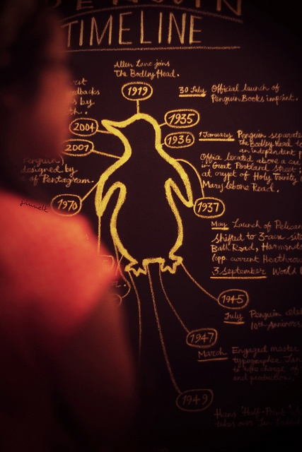 #penguin #book #art #exhibit #love #vintage #oldschool
