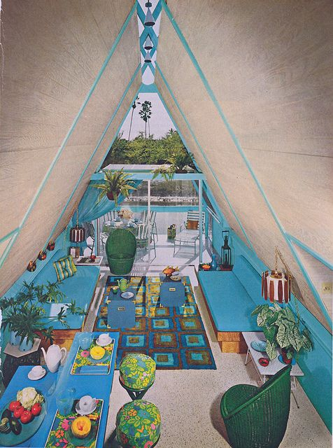 Vacation Home, 1960s - omg! I have fallin in love