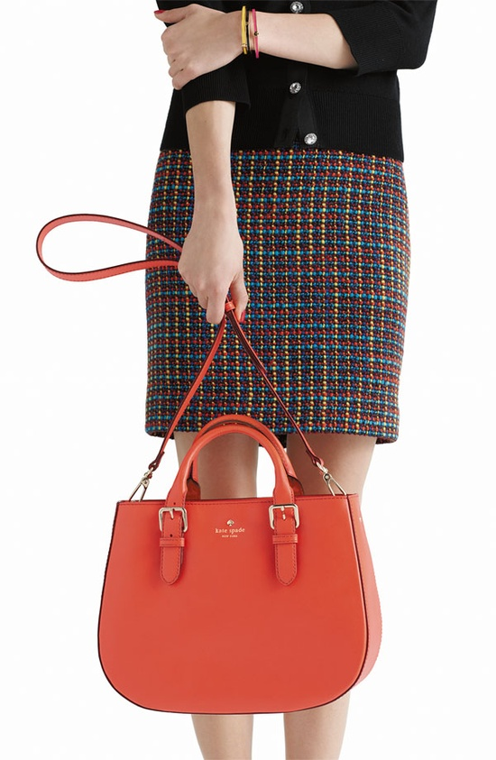For Her: kate spade new york 'charlotte street - sylvie' satchel #Nordstrom #Holiday