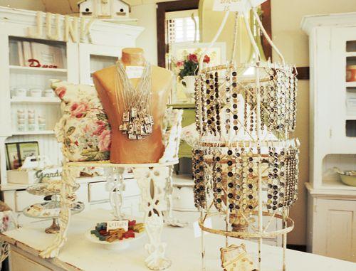 Beautiful Jewelry display