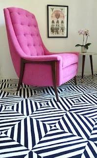 Paint   Painted Floor Rugs and Funky Painted Floor