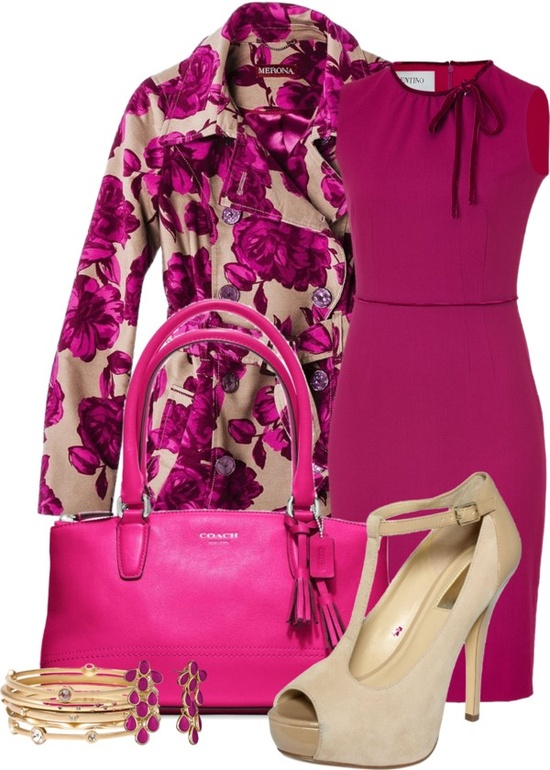 """Cranberry Roses"" by happygirljlc on Polyvore"