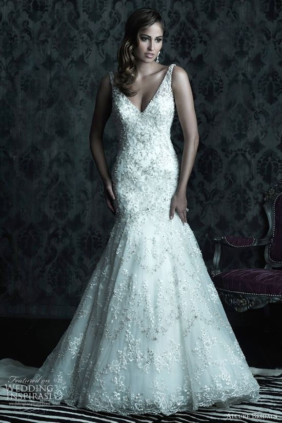 Allure Bridals Couture Fall 2012 Wedding Dresses