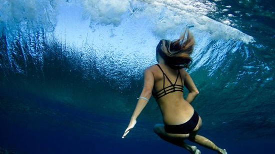 Amazing Photos of Surfers Under the Waves - weather.com