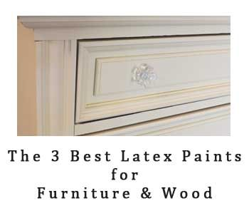 best latex paints for wood