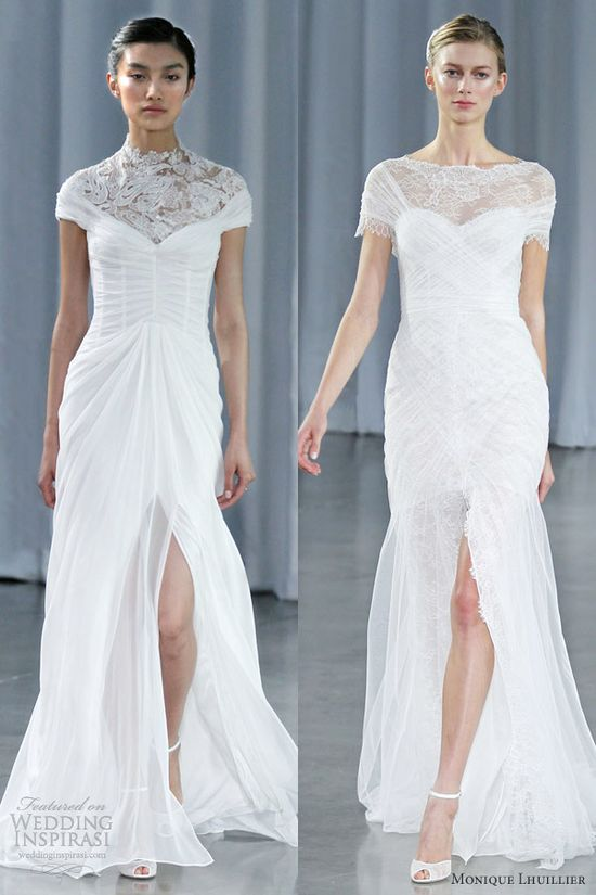 Monique Lhuillier Fall 2013 Wedding Dresses