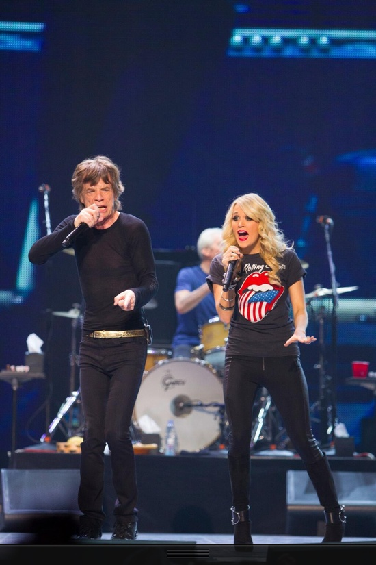 Carrie Underwood & The Rolling Stones!!!