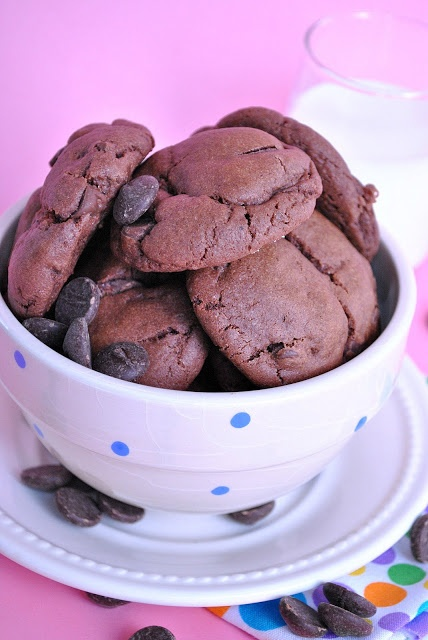 Nutella Pudding Cookies - Something Swanky