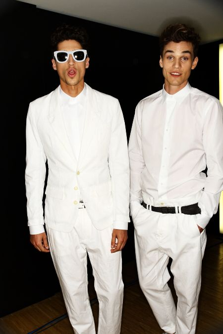 Dolce & Gabanna Men's SS 12 Fashion Show Milan Backstage