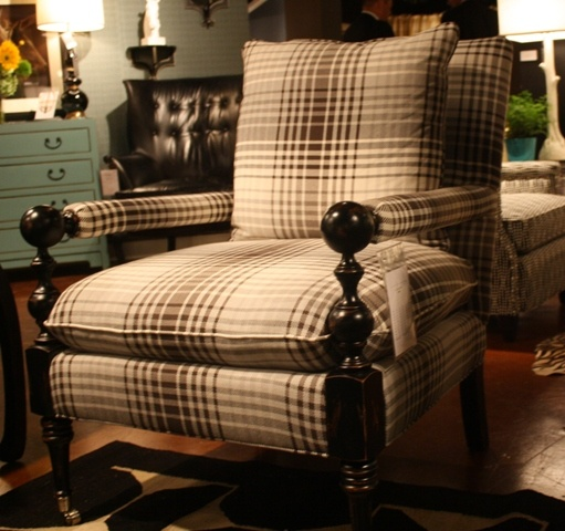 C.R. Laine-IHFC  Handsome open-arm chair modeled after an antique in Barry Dixon's Elway Hall.  What's not to love.  #hpmkt