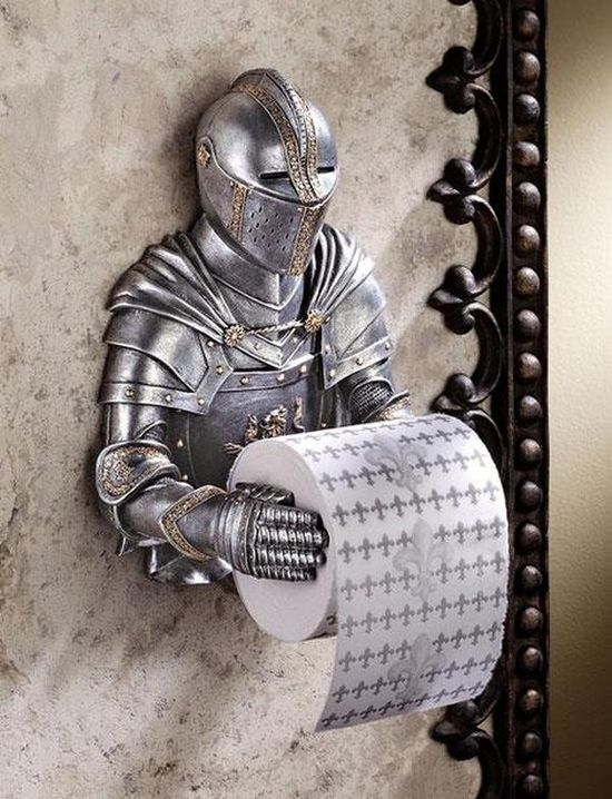 A Knight with a day job......