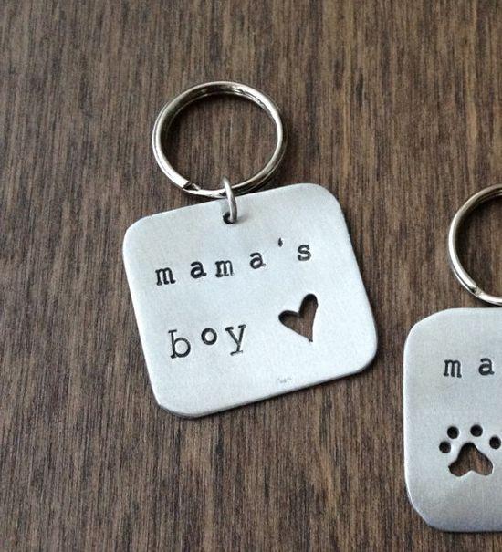 Mama's Boy - Pet Tag - Lofted Designs