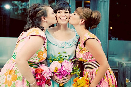 Custom Bridesmaid dresses PINKS by sohomode on Etsy, $164.00