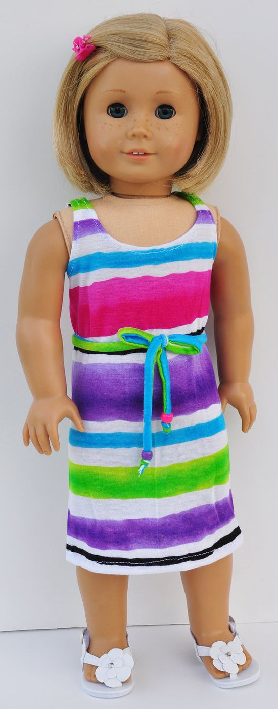 American Girl Dress or Coverup  Sundress by LoriLizGirlsandDolls, $18.00
