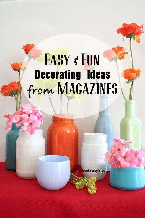 Magazine Decorating Ideas