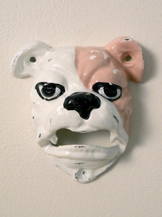 english bulldog bottle opener. via Etsy.