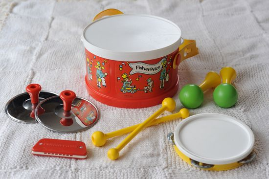Fisher Price Marching Band #fisher_price #vintage