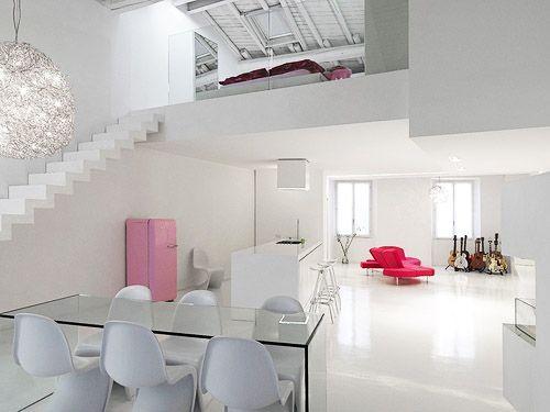 Interior Design in White...