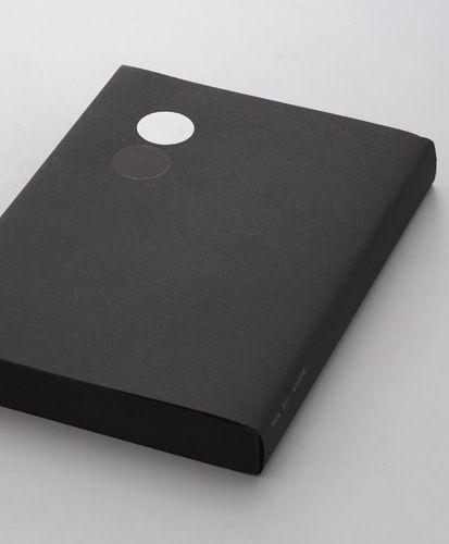 Book design - minimal with circles