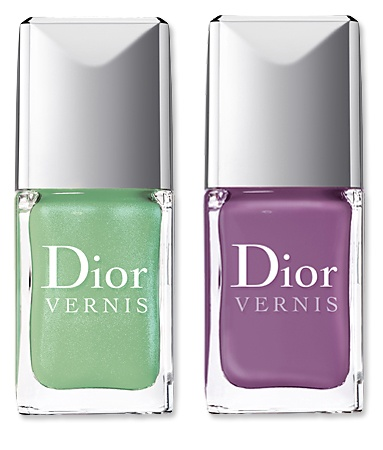 New Dior Limited-Edition SCENTED Nail Polish in Waterlily and Forget-Me-Not. Would you try it?