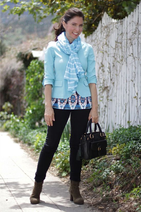 Tribal turquoise #MadeinUSA Outfit