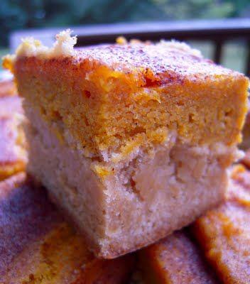 Pumpkin Pie Snickerdoodle Bars, could be heaven.