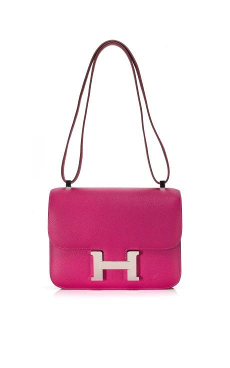 """Hermes Pink """"Constance"""" bag"""