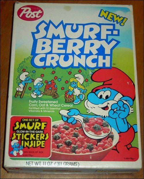 Smurf Cereal