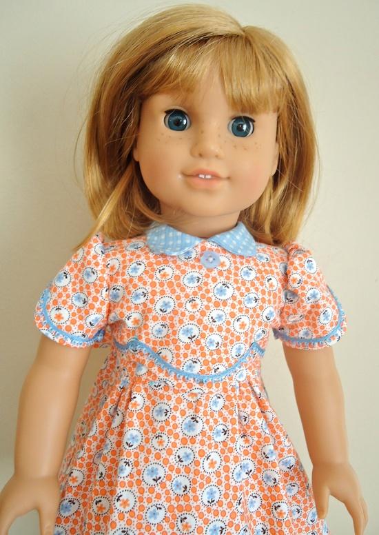 "Kit and Ruthie, ""Flower Bubbles"" 1930's Dress. $28.00, via Etsy."